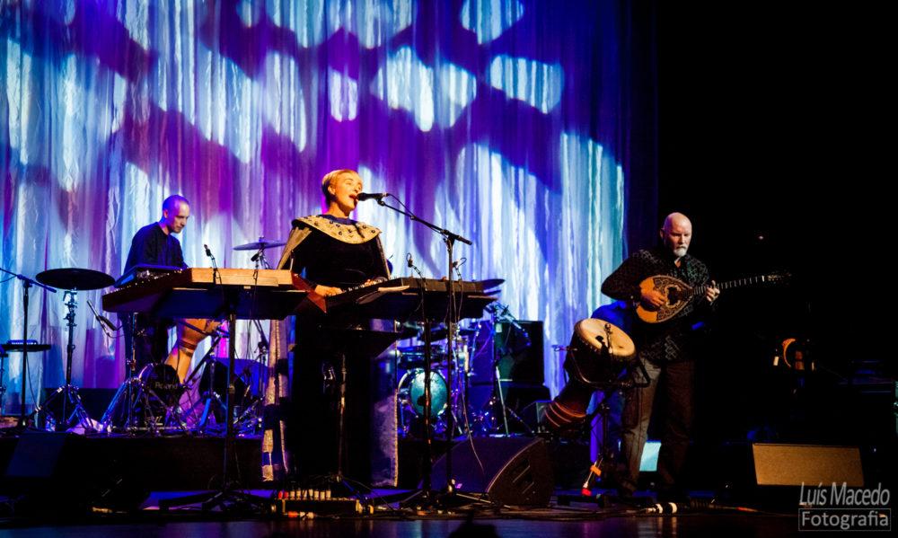 Fotografia Lisboa anastasis banda coliseu concerto dead can dance musica