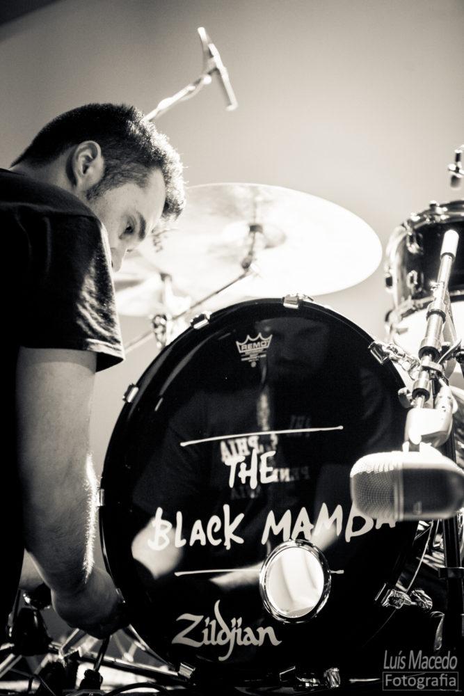bateria Black Mamba Olga Cadaval Dirty Little Brother Concerto Reportagem fotografia musica