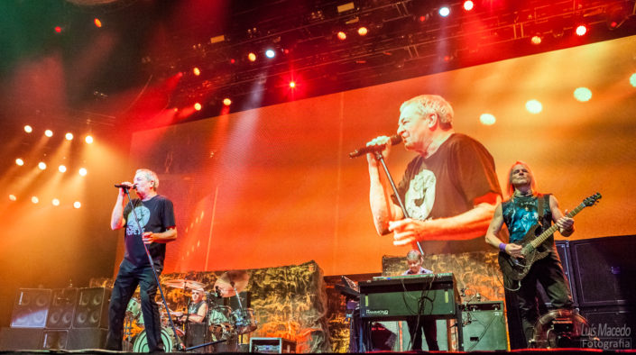 Deep Purple Reportagem Fotografia musica rock long goodbye tour lisboa