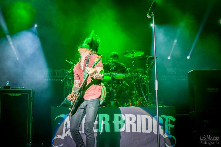alter bridge reportagem concerto last hero tour lisboa fotografia