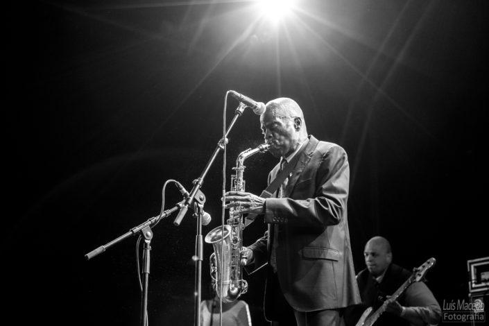maceo parker edp cool jazz festival funk concerto musica fotografia